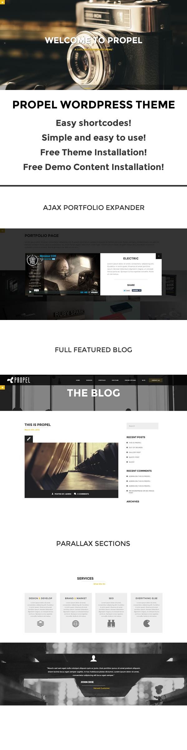 Propel WordPress Theme